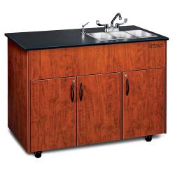 Ozark River - ADAVC-LM-SS3N - Advantage Series SS/Laminate Portable Hand Sink image