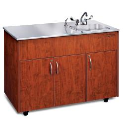 Ozark River - ADAVC-SS-SS1DN - Silver Advantage Series SS Portable Hand Sink image
