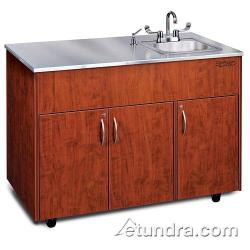 Ozark River - ADAVC-SS-SS1N - Silver Advantage Series Single Stainless/Cherry Portable Hand Sink image