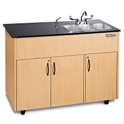 Ozark River - ADAVM-LM-SS3N - Advantage Series SS/Laminate Portable Hand Sink image