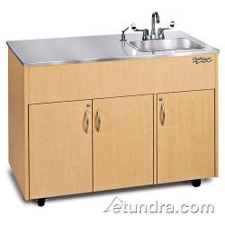 Ozark River - ADAVM-SS-SS1DN - Silver Advantage Series Single Deep Stainless/Maple Portable Hand Sink image
