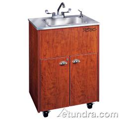 Ozark River - ADSTC-SS-SS1DN - Silver Premier Series Single Deep Stainless/Cherry Portable Hand Sink image