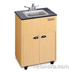 Ozark River - ADSTM-LM-SS1DN - Premier Series Single Stainless/Laminate/Maple Deep Portable Hand Sink image