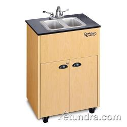 Ozark River - ADSTM-LM-SS2N - Premier Series Double Stainless/Laminate/Maple Portable Hand Sink image