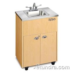 Ozark River - ADSTM-SS-SS1N - Silver Premier Series Single Stainless/Maple Portable Hand Sink image