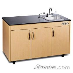 Ozark River - CHAVC-LM-SS1N - Lil Advantage Series Single Stainless/Laminate/Cherry Portable Hand Sink image
