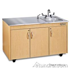 Ozark River - CHAVC-SS-SS1N - Silver Lil Advantage Series Single Stainless/Cherry Portable  Hand Sink image
