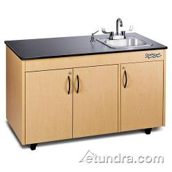 Ozark River - CHAVM-LM-SS1N - Lil Advantage Series Single Stainless/Laminate/Maple Portable Hand Sink image