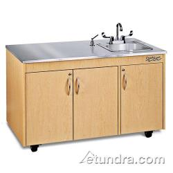Ozark River - CHAVM-SS-SS1N - Silver Lil Advantage Series Single Stainless/Maple Portable Hand Sink image