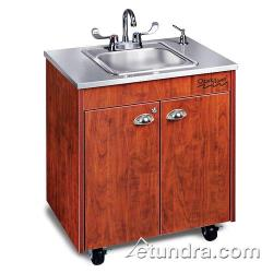 Ozark River - CHSTC-SS-SS1N - Lil Premier Series Single Stainless/Cherry Portable Hand Sink image