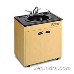 Ozark River - CHSTM-AB-AB1 - Lil Premier Series  ABS/Maple Portable Hand Sink image
