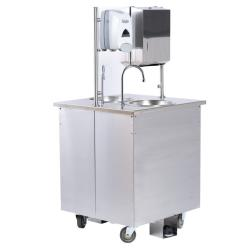 Vollrath - SS-2-2802SK - Stainless Steel Cold Mobile Hand Sink image