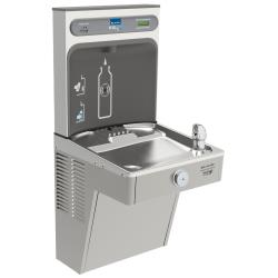 Elkay - LVRCGRN8WSK - EZH2O Single Level Bottle Filler Station and Drinking Fountain image