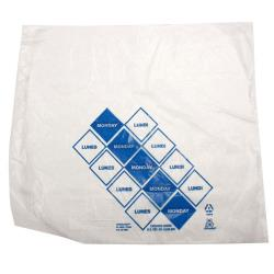 "DayMark - 110201 - 10"" x 8.5"" Saddlepack Blue Portion Bag image"