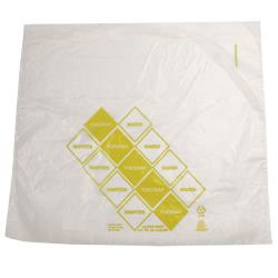 "DayMark - 110917 - 10"" x 8.5"" Saddlepack Yellow Portion Bag image"