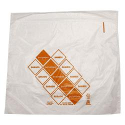 "DayMark - 110921 - 10"" x 8.5"" Saddlepack Orange Portion Bag image"