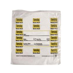 "DayMark - 112379 - 6.5"" x 7"" Saddlepack Tuesday Trilingual Portion Bag image"
