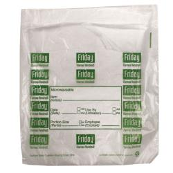 "DayMark - 114201 - 8.5"" x 8.5"" Saddlepack Friday Portion Bag image"