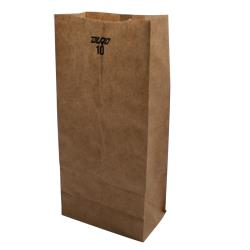 Durobag - 80985 - 10 lb Kraft Grocery Bag image