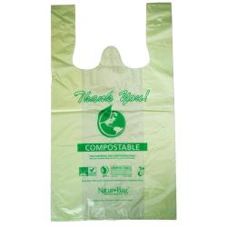 Natur Bag - NT1075-RTL-00004 - Medium Compostable Shopping Bags image
