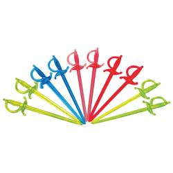 Commercial - 3 in Assorted Color Sword Picks image