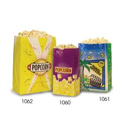 Paragon - 1060 - Popcorn Butter Bags-Small- 1.5 oz. image