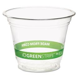 Eco-Products - EP-CC10-GS - 10 oz GreenStripe® Cold Corn Cups image
