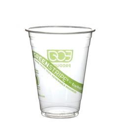 Eco-Products - EP-CC20-GS - 20 oz GreenStripe® Cold Corn Cups image