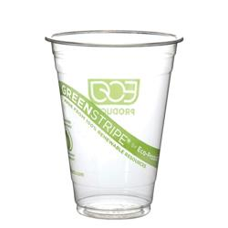 Eco-Products - EP-CC24-GS - 24 oz GreenStripe® Cold Corn Cups image