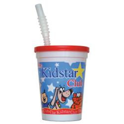 Kidstar - KS-250 - 12 oz. Kids Cup Set w/ Straw & Lid image