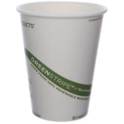 Eco-Products - EP-BHC12-GS - 12 oz GreenStripe® Hot Cups image