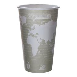 Eco-Products - EP-BHC16-WA - 16 oz World Art™ Hot Cups image