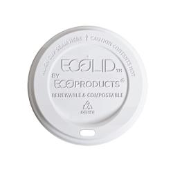 Eco-Products - EP-ECOLID-8 - 8 oz EcoLid® Renewable and Compostable Hot Cup Lids image