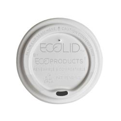 Eco-Products - EP-ECOLID-N20 - 20 oz EcoLid® Renewable and Compostable Hot Cup Lids image