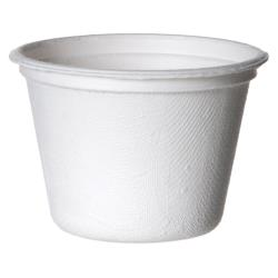 Eco-Products - EP-SPC4 - 4 oz Sugarcane Portion Cups image