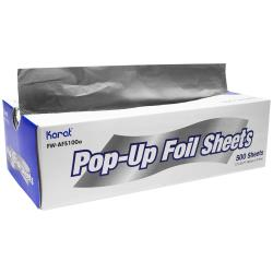Karat - FW-AFS100 - Aluminum Pop-Up Foil Sheets image