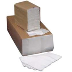 Commercial - 9 in x 9 in 1-Ply White Beverage Napkin image