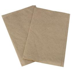 Karat - KN-F86-2K - 8 in x 6 1/2 in Kraft Interfold Napkins image