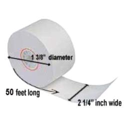 Paper Roll Products - T21450I - 2 1/4 in x 50 ft Thermal Receipt Paper image