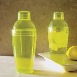 EMI Yoshi - EMI-CS14 - 14 oz Clear Yellow Cocktail Shaker image