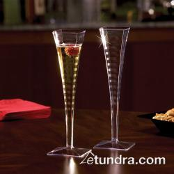 EMI Yoshi - EMI-SFC5 - 5 oz Clear Square Champagne Glass image