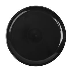 "EMI Yoshi - EMI-420 - 12"" Black Round Party Tray image"
