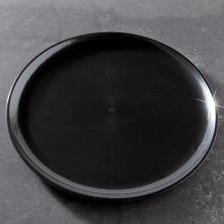"EMI Yoshi - EMI-460 - 16"" Black Round Party Tray image"