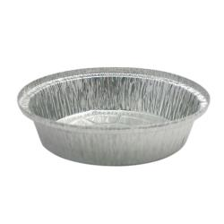 "Western Plastics - 527-B - 7"" Round Foil Takeout Pan image"