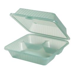 GET Enterprises - EC-09-1-JA - Eco-Takeouts Jade 1-Comp Container image