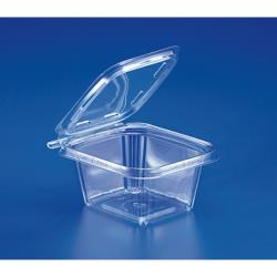Inline Plastics - TS16 - 16 oz Hinged Deli Containers image