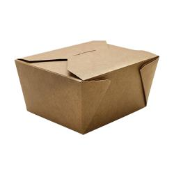 Karat - FP-FTG30K - 30 oz Kraft Fold-To-Go Box image