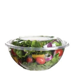 Eco-Products - EP-SB24 - 24 oz PLA Salad Bowls with  Lids image