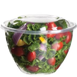 Eco-Products - EP-SB48 - 48 oz PLA Salad Bowls with  Lids image
