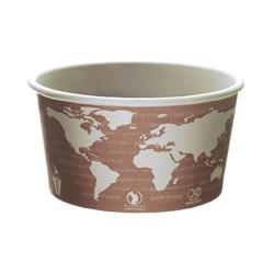 Eco-Products - EP-BSC10-WA - 10 oz World Art™ Soup Container image